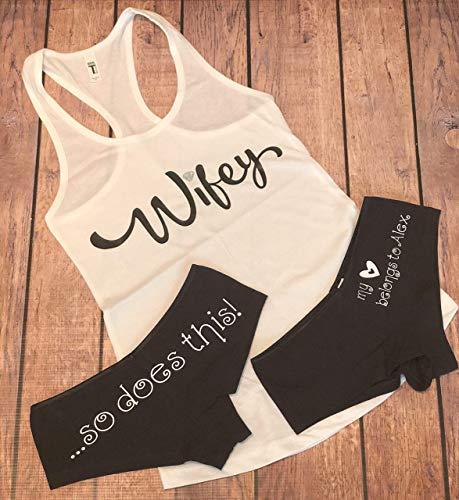- Personalized Wifey Tank and Undies Set