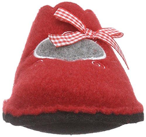 Softwaves Femmes red Doublées 522 Non Rouge Pantoufles 508 fxrSqfF