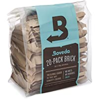 Boveda for Herbal Storage | 58% RH 2-Way Humidity Control | Size 67 Protects Up to 1 Pound (450 Grams) Flower | Prevent…