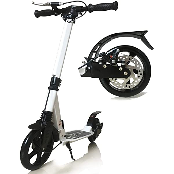 Patinetes Kick Scooter Carga 150 kg, Scooters Blancos Negros ...