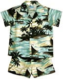 RJC Boys Sunset Island 2pc Set in Gray - 6T