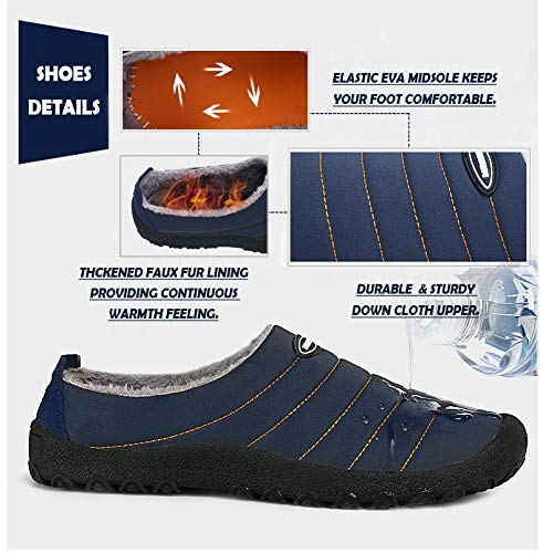 Intérieure Hiver Imperméable Chaud Maison Pantoufles Coton Douce Femme Plein Chaussures Homme Peluche Jaune Air Neepoch xzPnw4x