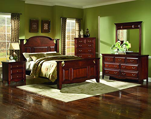 New Classic Furniture 6740-070 Drayton Hall Chest, Bordeaux