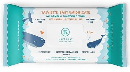 Nappynat 8052204612055 72pieza(s) toallita húmeda para bebé - Toallitas húmedas para bebé (