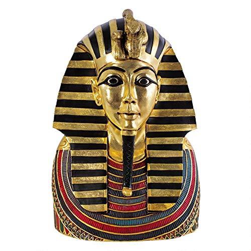 Design Toscano NE68882 the Golden Shroud of Tutankhamen Egyptian Bust Statue