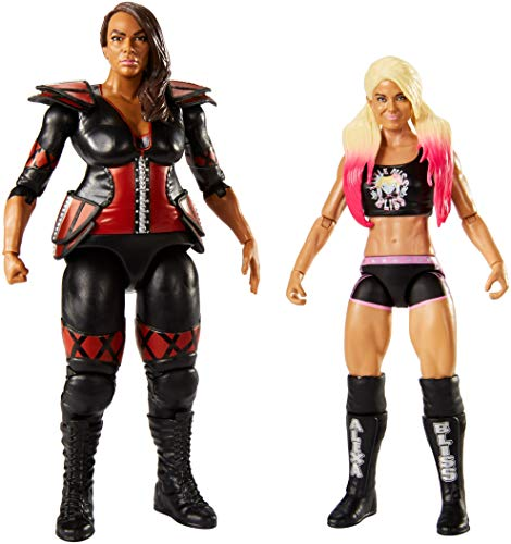 WWE Figure Series # 54 Alexa Bliss & Nia Jaxx Action Figures, 2 Pack