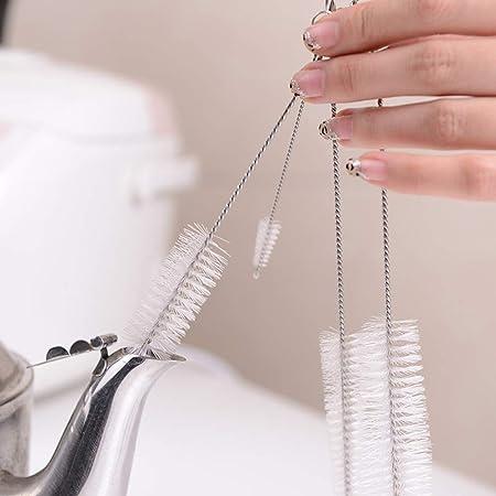 Este artículo es el mini cepillo de limpieza.,Buenas herramientas para limpiar boquilla, tetera, bot