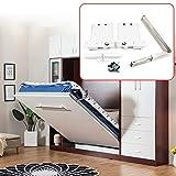 RanBB DIY Murphy Bed Hardware Kit, Wall Bed