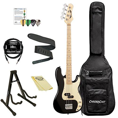 Dean Guitars PARAMOUNT M CBK-KIT-1 4-String Bass Guitar Pack by Dean Guitars