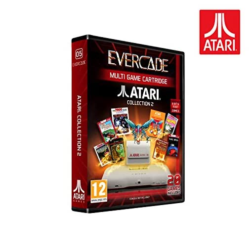 Evercade Atari Cartridge 2 (Electronic Games)