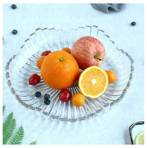 (Fruit Bowls Glass Fruit Bowls Creative Melody Large Large Capacity Fruit Basket, Nuts Vegetables Salad Home Decoration Gifts Fruit Display Stand Fruit Plates)