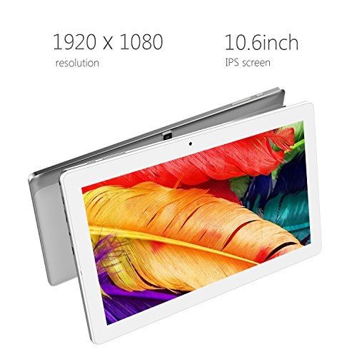 ALLDOCUBE iPlay10 / U83 10.6 inch 1920 x 1080 IPS Display Screen Tablet, Cube Android 6.0 Tablet Quad Core MTK MT8163 64-bit 1.3Ghz, 2GB+32GB, Support 5Ghz + 2.4Ghz WiFi and HDMI Output, White Silver by ALLDOCUBE (Image #2)