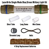 Lazerbrite Single Mode Blue/Green Military Light System