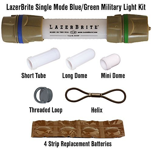 Lazerbrite Single Mode Blue/Green Military Light System by Lazerbrite