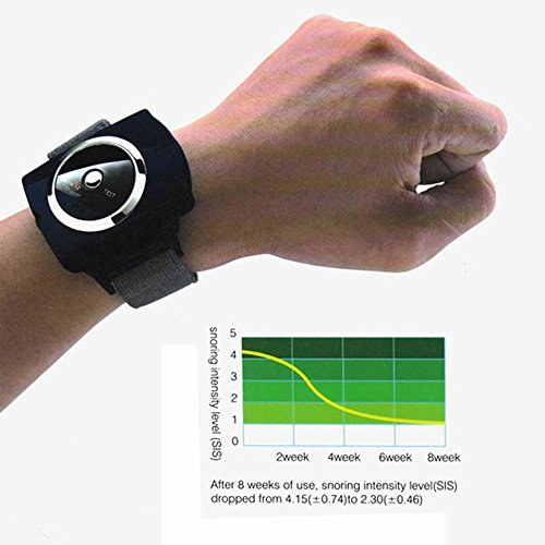 Infrared Intelligent Anti Snoring Wrist Snore Gone Stop r...