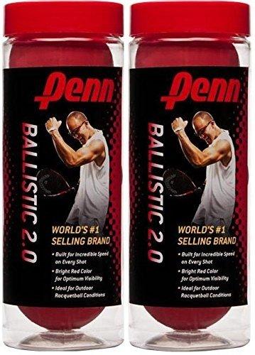 Penn Racquetballs (2 cans) 3 pack Ballistic