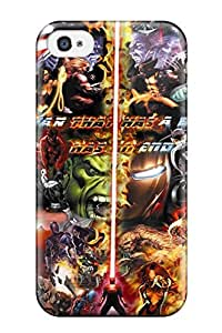 TYH - 4329853K95509901 Case Cover, Fashionable ipod Touch 4 Case - Marvel phone case