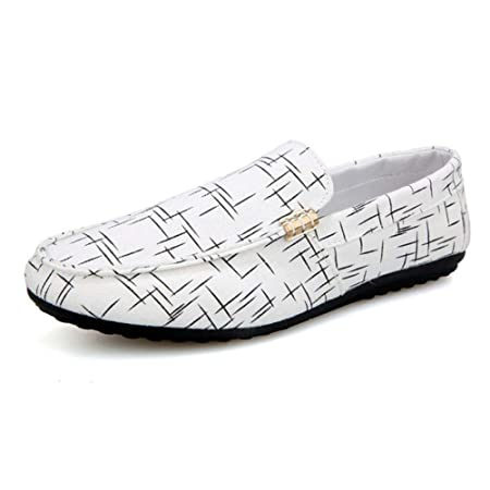 HILOTU Mocassino Slip on Mocassino Casual da Uomo Scarpe da