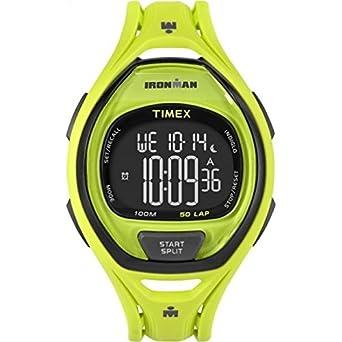 Timex - Reloj de pulsera hombre cronógrafo cuarzo plástico tw5 m0 1700: Amazon.es: Relojes