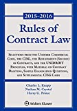 img - for Rules of Contract Law Statutory Supplement (Supplements) book / textbook / text book