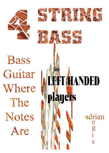 BASS GUITAR LEFT-HANDED PLAYERS' FRET-FINGERING GUIDE (Instant Knowledge) (Bass Players Guide)