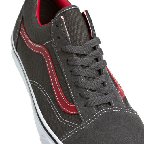 Mixte Chaussures Gris Adulte Skool Vans Old RwEUnt