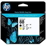 HP 88 Black & Yellow Original Printhead (C9381A) for HP Officejet Pro K8600 K5400 K550 L7580 L7590 L7680 L7780