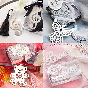collectsound Korean Style Creative Musical Note Eagle Bear Love Alloy Bookmark Type 1