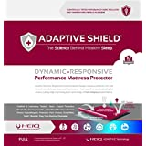 Adaptive Shield Premium Performance Mattress Protector - Lab Tested Allergy Free and Waterproof, Vinyl Free Noiseless Sleep, Crinkle Free, Machine Washable, and Compatible with All Mattresses (Full)