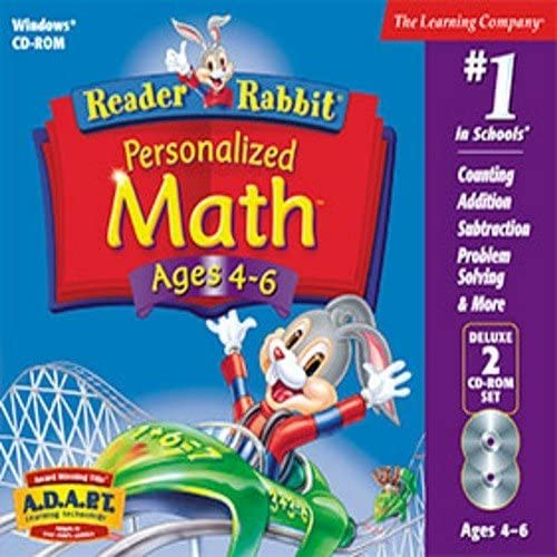 Reader Rabbit Personalized Math 4-6 Deluxe 51LMxL2BNe3L