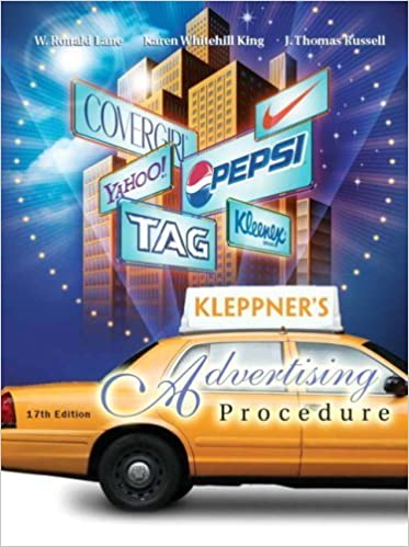 Kleppners advertising procedure 17th ed book only amazon books fandeluxe Images