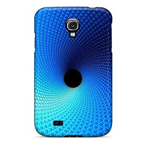 Cynthaskey Fashion Protective Blue Abstract Case Cover For Galaxy S4