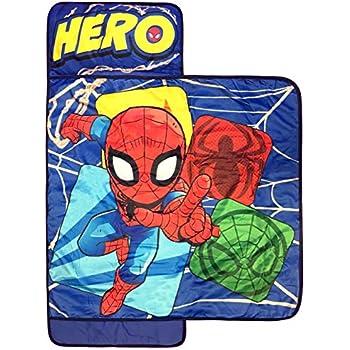 Amazon Com Marvel Spiderman Spidey Squares Nap Mat