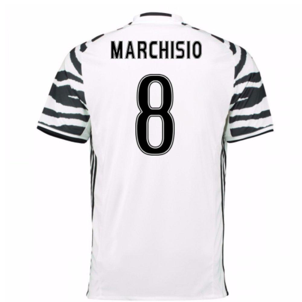 2016-17 Juventus 3rd Shirt (Marchisio 8) Kids B0785PYHZRWhite Medium Boys 28-30\