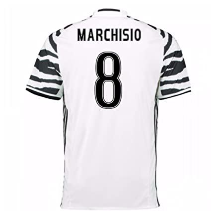 8f5307329d0 Image Unavailable. Image not available for. Color  2016-17 Juventus 3rd  Football Soccer T-Shirt Jersey (Claudio Marchisio 8)