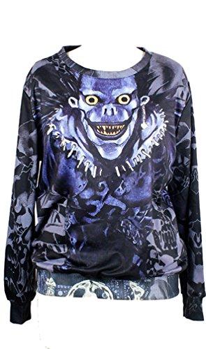 Lovers T Shirt Stampa Dearh Belsen Donna Digitale Felpe Skull g1WpwSAq