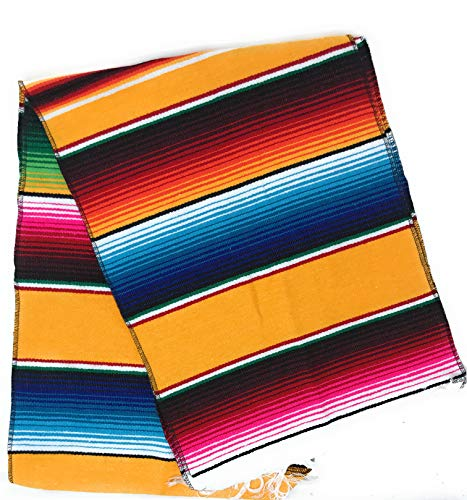 Mexitems Mexican Serape Table Runner 84