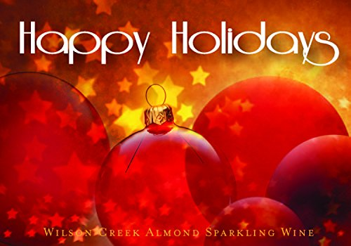 NV Wilson Creek Almond Sparkling Happy Holidays Red Edition 750mL (Wilson Creek Almond)