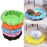 LUQUAN Pet Puppy Dog Cat Soft Bed House Sleeping Bag Warm Cushion + Heart Pillow - 5 Colors