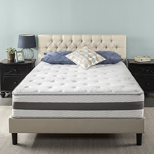 Zinus 12 Inch Gel-Infused Memory Foam Hybrid Mattress, Queen