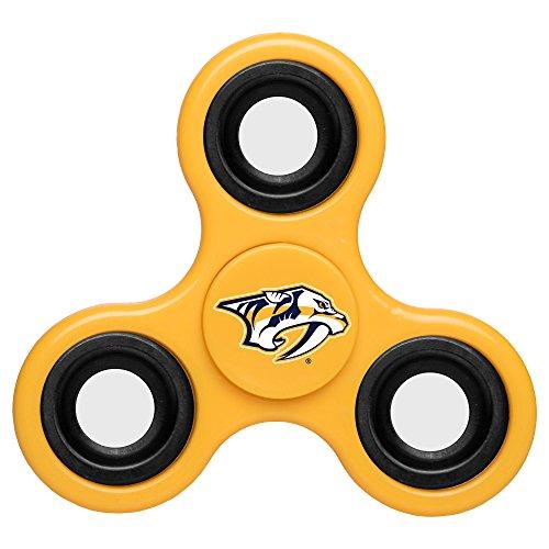NHL Diztracto Fidget Spinnerz - 3 Way, Nashville Predators, One Size