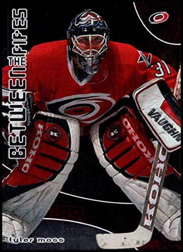 2001-02 Between the Pipes #66 Tyler Moss NM-MT Carolina Hurricanes Official ITG In the Game NHL Hockey Card