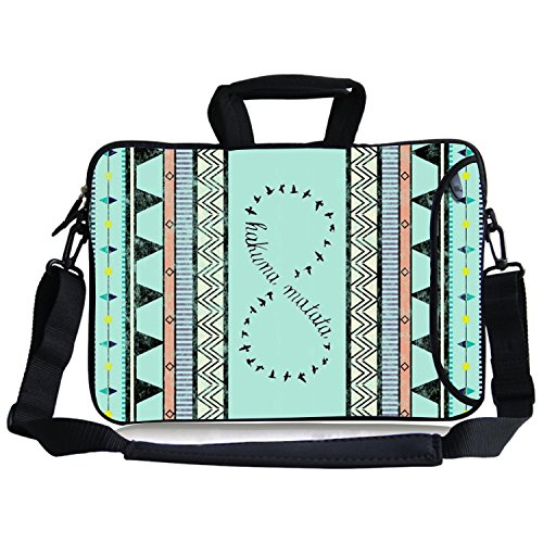 Kitron12.9-13.3 Inches Cute Colorful Tribal Stripe Hakuna Ma