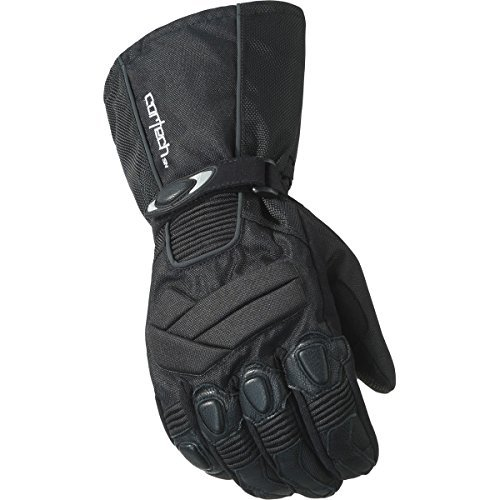 Cortech Cascade 2.1 Men's Snowboard Snowmobile Gloves - Black/Black/Large