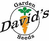 Davids Garden Seeds Vegetable Garden Seed Collection P974HH (Multi) 3500 plus Seeds (Open Pollinated, Heirloom, Organic)