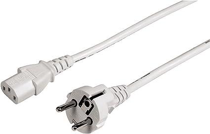 Hama Netzkabel Für Kaltgeräte 5 M Elektronik