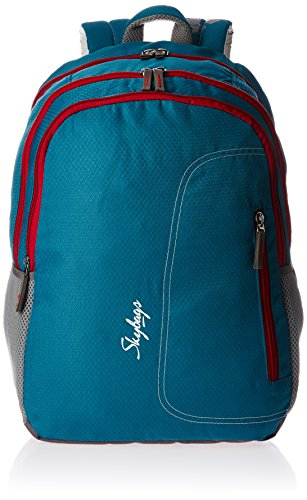Skybags Neon Blue Casual Backpack (NEON02BLU)