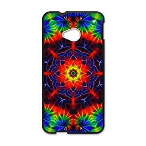 Happy Shining Flowers Hot Seller Stylish Hard Case For HTC One M7