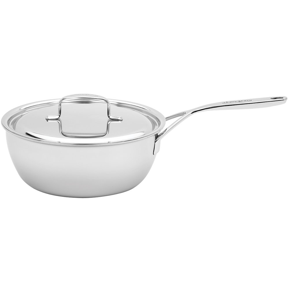 Demeyere 5-Plus Stainless Steel 3.5-qt Saucier by Demeyere