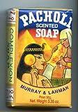 Murray & Lanman Pacholi, scented soap, 3.3 oz